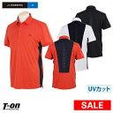 Jリンドバーグ J.LINDEBERG 日本正規品 メンズ ポロシャツ 半袖 UVカット 吸水速乾 ストレッチ 着丈長め スリムフィッ…
