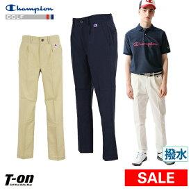 【30%OFF SALE】チャンピオン チャンピオン ゴルフ Champion 日本正規品 メンズ パンツ ロングパンツ ワンタックパンツ 9分丈 撥水 ストレッチ ワンポイントロゴ ゴルフウェア Singles' Day