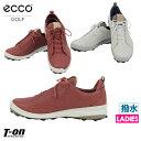 エコーゴルフ ECCO GOLF 日本正規品 レディース シューズ ゴルフシューズ スパイクレス ヤクレザー 撥水 ECCO G…
