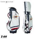 トミー ヒルフィガー ゴルフ TOMMY HILFIGER GOLF 日本正規品 メンズ レディース キャディバッグ 9型 46インチ対応 10…