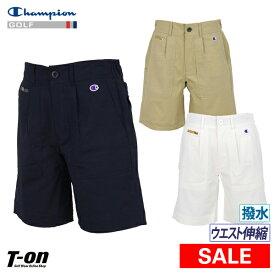 【30%OFF SALE】チャンピオン チャンピオン ゴルフ Champion 日本正規品 メンズ パンツ ショートパンツ ハーフパンツ 撥水 ストレッチ ウエストゴム切り替え Dカン付き ゴルフウェア Singles' Day