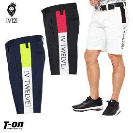 V12 ゴルフ ヴィ・トゥエルブ メンズ パンツ ショートパンツ ハーフパンツ SP SHORTS ストレッチ サイドラインデザイン 【送料無料】 2019 春夏 ゴルフウェア