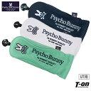 サイコバニー Psycho Bunny 日本正規品 メンズ レディース ヘッドカバー ユーティリティ用ヘッドカバー ダイヤル式番…