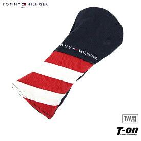 トミー ヒルフィガー ゴルフ TOMMY HILFIGER GOLF 日本正規品 メンズ レディース ヘッドカバー ドライバー用ヘッドカバー 460cc対応 帆布 キャンバス素材 トリコロールデザイン ロゴ刺繍 ゴルフ