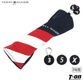 トミー ヒルフィガー ゴルフ TOMMY HILFIGER GOLF 日本正規品 メンズ レディース ヘッドカバー フェアウェイウッド用ヘッドカバー 200cc対応 帆布 キャンバス素材 トリコロールデザイン 3・5・X番手付き ゴルフ