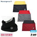 マンシングウェア Munsingwear メンズ ネックウォーマー ネックカバー ストレッチ 裏微起毛 保温 ロゴワッペン 2020 …