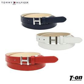 トミー ヒルフィガー ゴルフ TOMMY HILFIGER GOLF 日本正規品 メンズ レディース ベルト 合皮ベルト Hロゴバックル ベルトカット可 シンプル スタイリッシュ ゴルフ