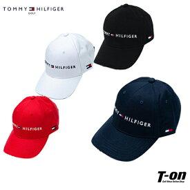 トミー ヒルフィガー ゴルフ TOMMY HILFIGER GOLF 日本正規品 メンズ レディース キャップ コットン素材 ロゴ刺繍 ツバ縁配色デザイン サイズ調節可 ゴルフ