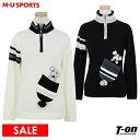MUスポーツ エムユー スポーツ M.U SPORTS MUSPORTS レディース セーター ハーフジップセーター ハイネックセーター …