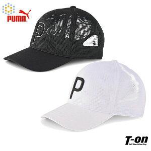 プーマゴルフ PUMA GOLF 日本正規品 メンズ レディース キャップ メッシュキャップ スナップバックキャップ ワンテンキャップ ロゴ刺繍 2021 春夏 新作 ゴルフ