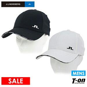 Jリンドバーグ J.LINDEBERG 日本正規品 メンズ キャップ ブリッジロゴワッペン サイズ調節可 シンプルデザイン 2021 春夏 新作 ゴルフ