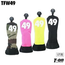 ティーエフダブリュー フォーティーナイン TFW49 メンズ ヘッドカバー ユーティリティ用ヘッドカバー /C #UT 番手付き ロゴプリント ゴルフ