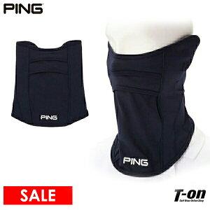 ピン PING メンズ レディース フェイスカバー UVフェイスカバー 耳掛けゴム付き 通気口付き ロゴプリント 2021 春夏 新作 ゴルフ