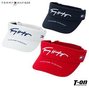 トミー ヒルフィガー ゴルフ TOMMY HILFIGER GOLF 日本正規品 メンズ レディース サンバイザー 鹿の子調素材 立体ロゴ刺繍 サイズ調整可能 2021 春夏 新作 ゴルフ