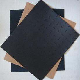 【vibram ヴィブラム】靴底修理半張 抜ソール No.7673 42×37cm 板状(シューリペア・ソール)