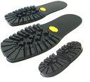 【vibram ヴィブラム】靴底修理 No.1100 サイズ41/42 (シューリペア・ソール+ヒールのセット)