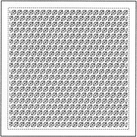 .オリムパス 刺し子 花ふきん 布パック リーフ 一目刺し 白 H-1067 刺しゅう 伝統的 刺繍 技法