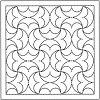 OLYMPUS THREAD Mfg Hana-Fukin Sashiko Sampler H-1038 white