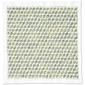 【10/30(金)限定クーポン配布中】.オリムパス 刺し子 キット 一目刺しの花ふきん ( 白 ) リーフ SK-377 刺しゅう 伝統的 刺繍 技法