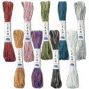 .新商品!オリムパス こぎん刺し 段染め の こぎん糸 ( 袋入り ) 約18m 全9色 刺しゅう 伝統的 刺繍 技法