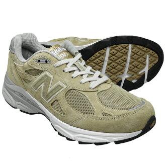 新平衡M990BG3 NEW BALANCE M990浅驼色990男子的运动鞋990V3