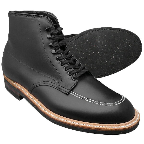 Alden オールデン 401 INDY BOOTS インディブーツ BLACK ラバーソール≪MADE IN U.S.A. 正規品≫