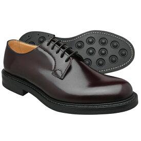Church's チャーチ シャノン ポリッシュドバインダーカーフ バーガンディ ダイナイトソール SHANNON R(Rubber sole) BURGUNDY メンズ プレーントゥ 革靴≪UK直輸入・正規品≫