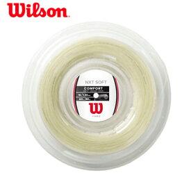 ウィルソン(Wilson) NXTソフト130 ロール(200m)(WR830520116)l 硬式テニス ガット ストリング 硬式テニスガット ナイロン マルチフィラメント 小物 テニス ラケット テニスグッズ テニスガット テニス用品 ソフト ロール ウイルソン