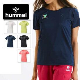 特価! 即納可! hummel(ヒュンメル)レディースTシャツ 吸汗速乾Tシャツ スポーツウェア アウトレットセール ウエア トレーニングウェア