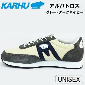 KARHU(カルフ)スニーカー レディース メンズ 靴 アルバトロス グレー/ダークネイビー kh802505