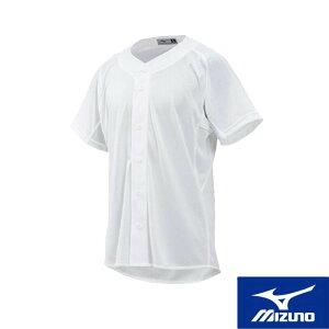 MIZUNO(ミズノ) 練習用シャツ(オープンタイプ) メッシュ [ジュニア] 野球用 スポーツウェア トレーニングウェア ユニフォームシャツ ベースボール 名入れ可能 12jc8f8801