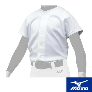 MIZUNO(ミズノ) GACHIユニフォームシャツ/オープンタイプ[ジュニア] 野球用 スポーツウェア トレーニングウェア ユニフォームシャツ ベースボール 名入れ可能 12jc9f8001