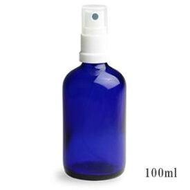スプレー付き遮光瓶(ブルー)100ml