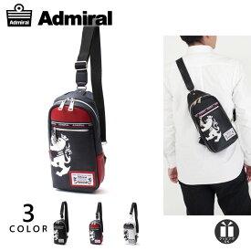 【20%OFFクーポン&ポイント15倍】アドミラル ボディバッグ メンズ レディース ブランド ワンショルダーバッグ ブラック 斜めがけ PU レザー 撥水 軽い 薄型 [公式] Admiral ADGA-01 クリスマス プレゼント ギフト