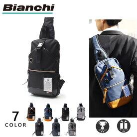 [新色/公式] ビアンキ ボディバッグ メンズ レディース 大きめ 大容量 撥水 Bianchi NBTC-10 父の日 プレゼント ギフト