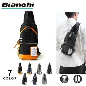 [公式] ビアンキ ボディバッグ A5 メンズ レディース 撥水 Bianchi NBTC-01 母の日 新生活 プレゼント ギフト