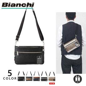[直営店限定カラー/公式] ビアンキ ミニショルダーバッグ 2way Bianchi メンズ レディース PU レザー 革 TBPI-10 プレゼント ギフト