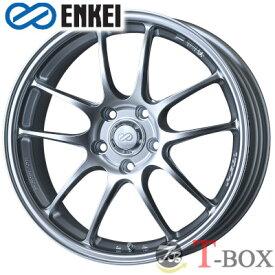 【4本特価】ENKEI PF01 17inch 7.0J PCD:114.3 穴数:5H カラー: Sparkle Silver エンケイ ホイール