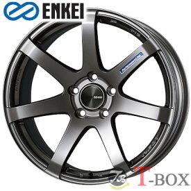 ENKEI PF07 17inch 8.0J PCD:114.3 穴数:5H カラー:Dark Silver エンケイ ホイール