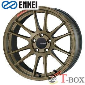 【4本特価】ENKEI GTC01RR 18inch 7.5J PCD:114.3 穴数:5H カラー : Titanium Gold エンケイ ホイール