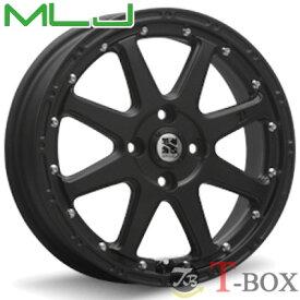 MLJ XTREME-J 12inch 4.00B PCD:100 穴数:4H カラー:フラットブラック エムエルジェイ エクストリームジェイ