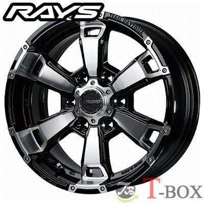 【在庫あり・即納可能】RAYS TEAM DAYTONA FDX G6 17inch 8.0J PCD:139.7 穴数:6H カラー: BAZ レイズ チーム デイトナ