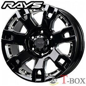 RAYS TEAM DAYTONA FDX F7S 17inch 8.0J PCD:139.7 穴数:6H カラー: BRQ / BNE レイズ チーム デイトナ