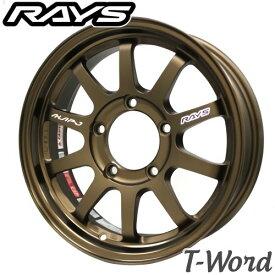 RAYS KC DECOR A LAP・J16inch 5.5J PCD:139.7 穴数:5H カラー : BD / BR レイズ エーラップ・ジェイ 【ジムニー】