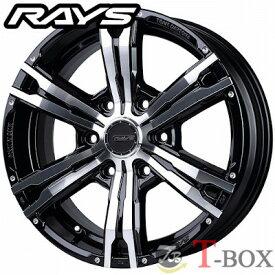 RAYS TEAM DAYTONA FDX-HC 17inch 6.5J PCD:139.7 穴数:6H カラー: KTP レイズ チーム デイトナ