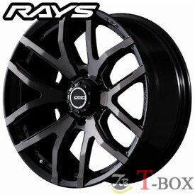 【4本セット】RAYS TEAM DAYTONA FDX F6 17inch 8.0J PCD:139.7 穴数:6H カラー: クリアブラック(KZ) レイズ チーム デイトナ