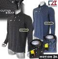 CUTTER&BUCK/カッター&バックMotion3D千鳥格子B.D.ポロ