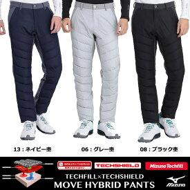 Mizuno Golf ミズノ ブレスサーモ テックフィル×テックシールドハイブリッドMOVEパンツ