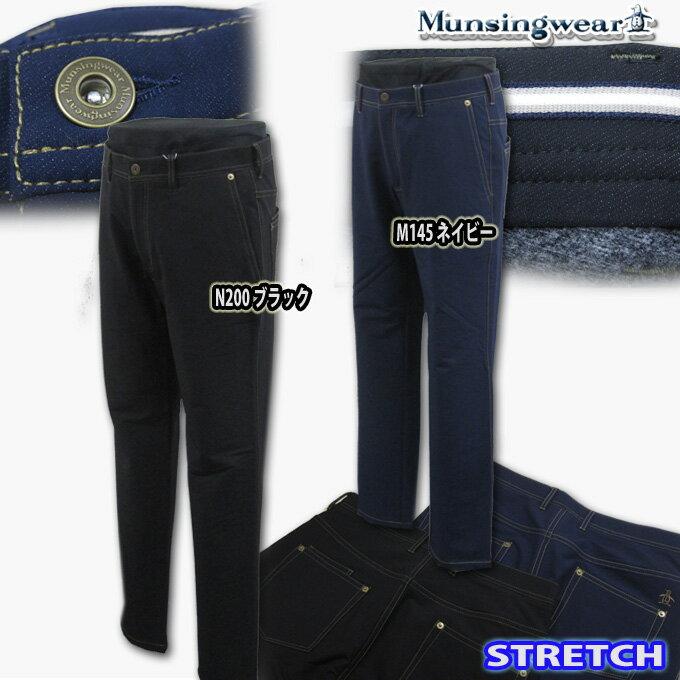 マンシングウェア(Munsingwear) デニムライクstretchパンツ