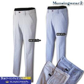 マンシングウェア(Munsingwear) sunscreen サッカーギンガムstretchパンツ